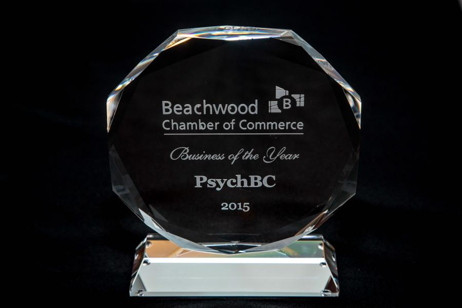 PsychBC: 2015 Beachwood Business of the Year